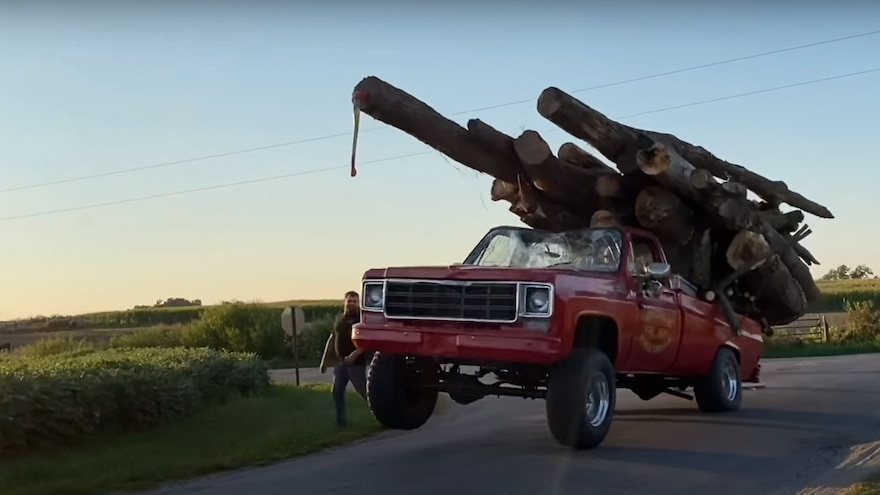 A Tale of Two Red Chevy Pickups, Tens of Tons of Hauling, and Awesome Power