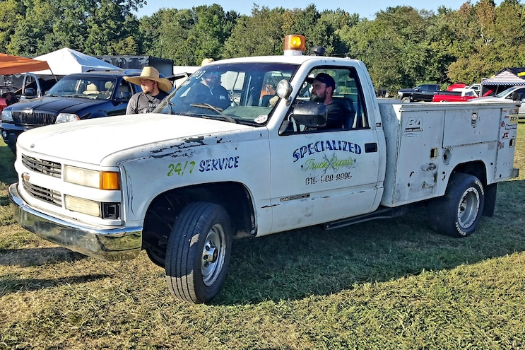 LS Fest Fan Favorite! LSX-Swap 1993 GMC Utility-Box Race Truck