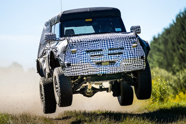 "Ford Teases Flying 2021 Bronco… Is This The ""Warthog""?"