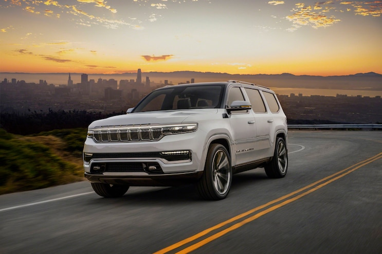 Jeep Grand Wagoneer Concept: First Look