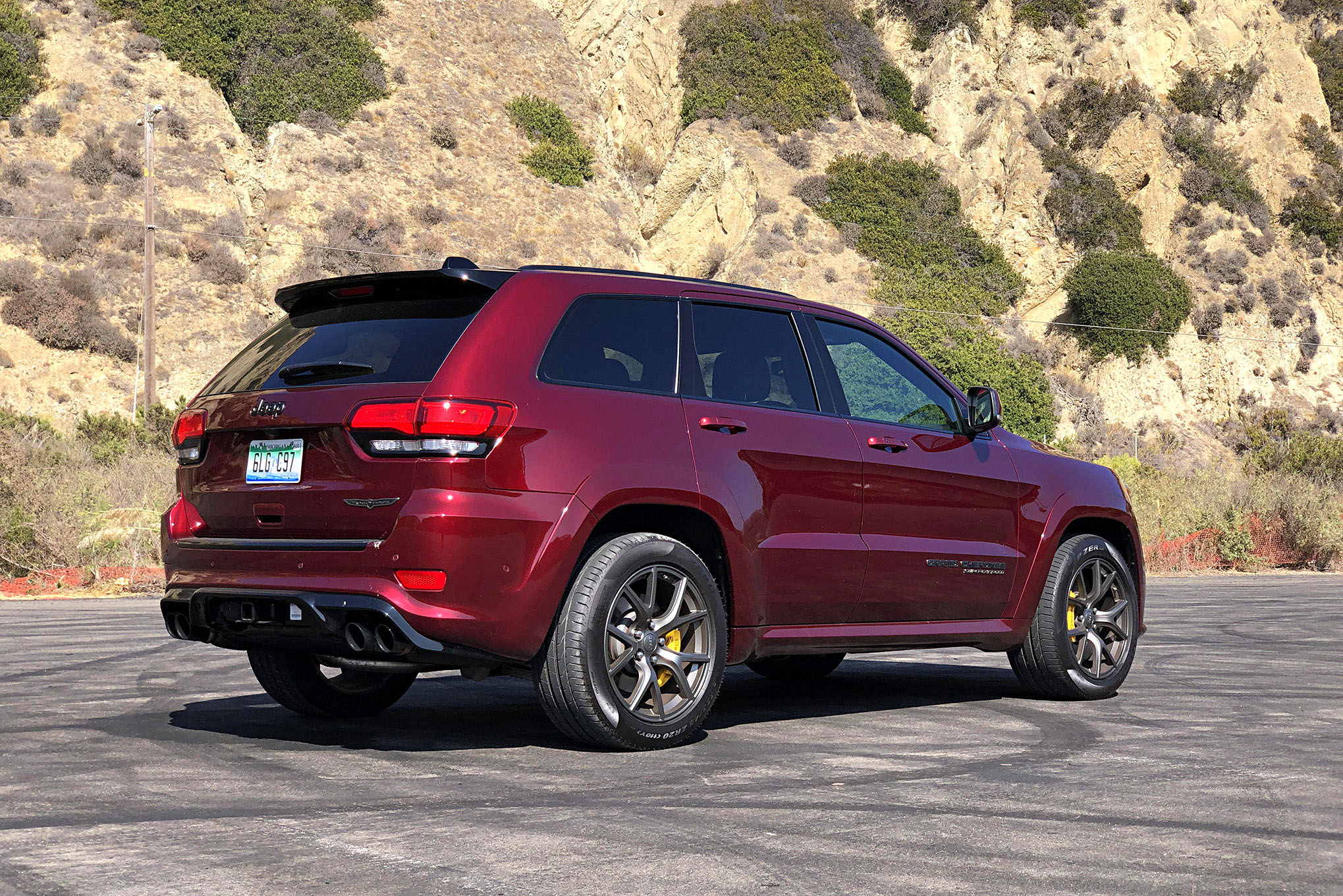 Towing An Airstream Basecamp With 2020 Jeep Grand Cherokee Trackhawk