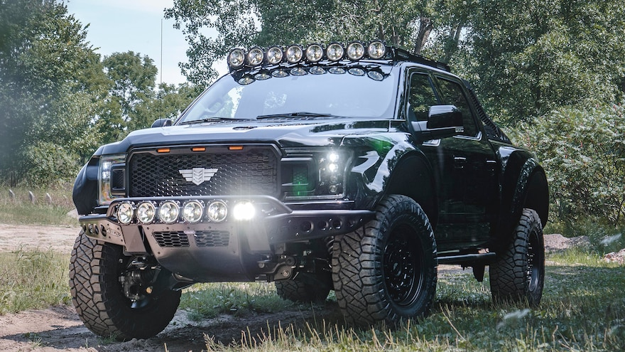 Now Supercharged, Mil-Spec Automotive's Ford F-150 Inches Closer to the Ram TRX