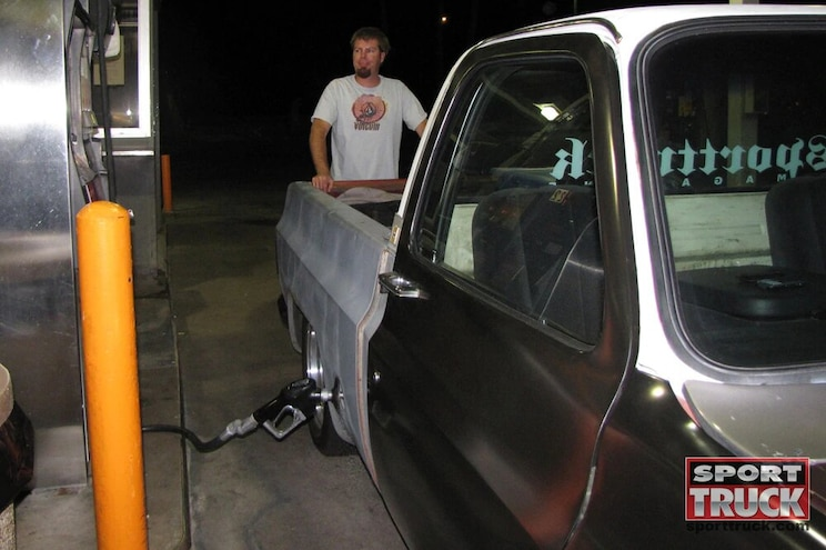 Road Trip In A 1973 Chevy C10