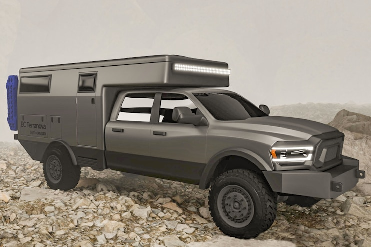 Earthcruiser Overland Earthroamer Ram Chevy Ford Rv 4x4 Offroad Expedition Camping Glamping Fourwheeler Jeep 03