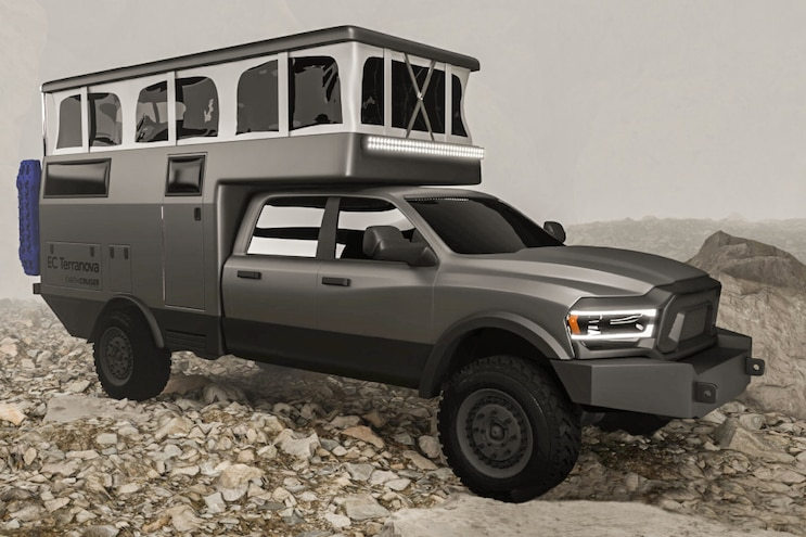 Earthcruiser Overland Earthroamer Ram Chevy Ford Rv 4x4 Offroad Expedition Camping Glamping Fourwheeler Jeep 04