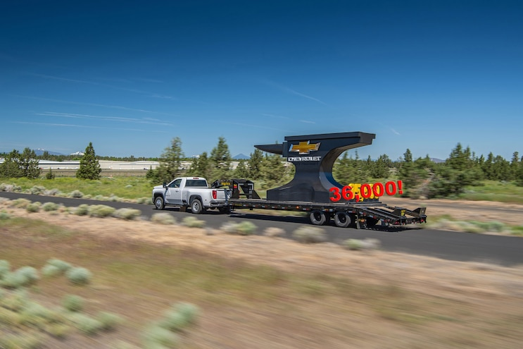 Chevrolet Reclaims Best-in-Class 1-Ton Towing at 36,000 Pounds
