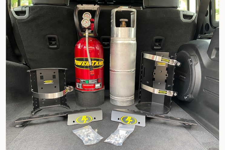 How To Mount A Power Tank In Your Wrangler JL