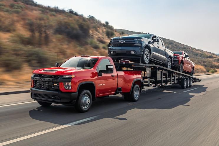 Towing Heavy With A 2020 Chevrolet Silverado 3500hd
