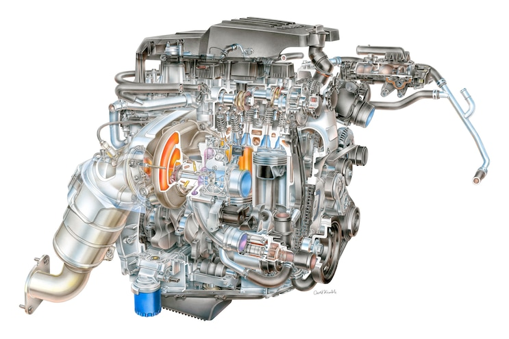 003 2021 Trucks 4 Cylinder Engines 2021 27l I4 Turbo Chevrolet Silverado