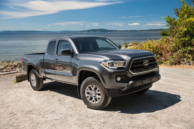 008 2021 Trucks 4 Cylinder Engines 2016 Toyota Tacoma Sr5