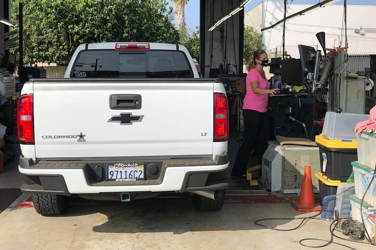 009 Evaluating Emission Tests For California Diesels