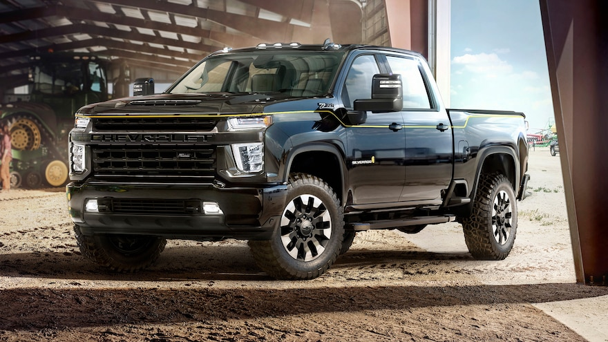 Chevrolet Adds Flair to 2021 Silverado HD with Four Special Editions