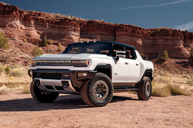 2022 GMC Hummer EV VIN 001 Hits Barrett-Jackson's Scottsdale Auction Block