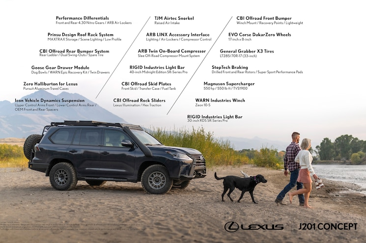 Lexus J201 Concept SUV 03