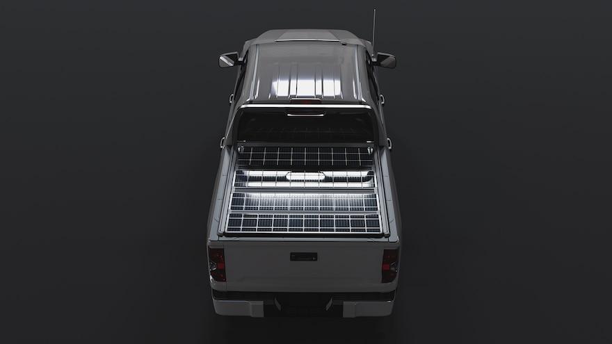 Worksport Terravis Solar Tonneau Cover Trucks 12