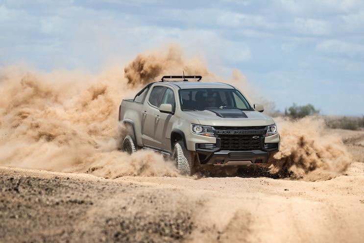 008 Trucks With The Worst Fuel Economy 2021 Chevrolet Colorado Zr2