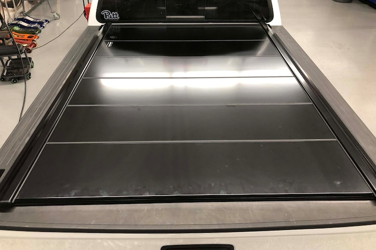 017 Retractable Tonneau Cover