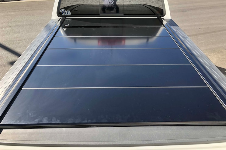 020 Retractable Tonneau Cover