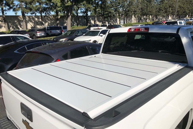 021 Retractable Tonneau Cover
