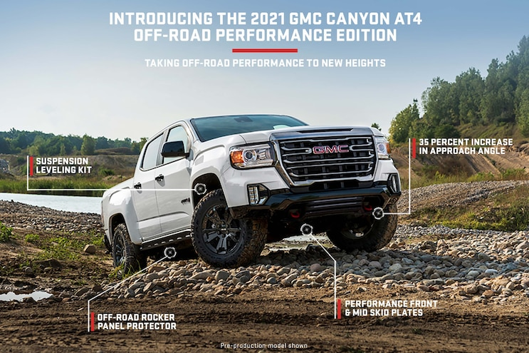 03 2021 GMC Canyon AT4 Off Road Performance Edition