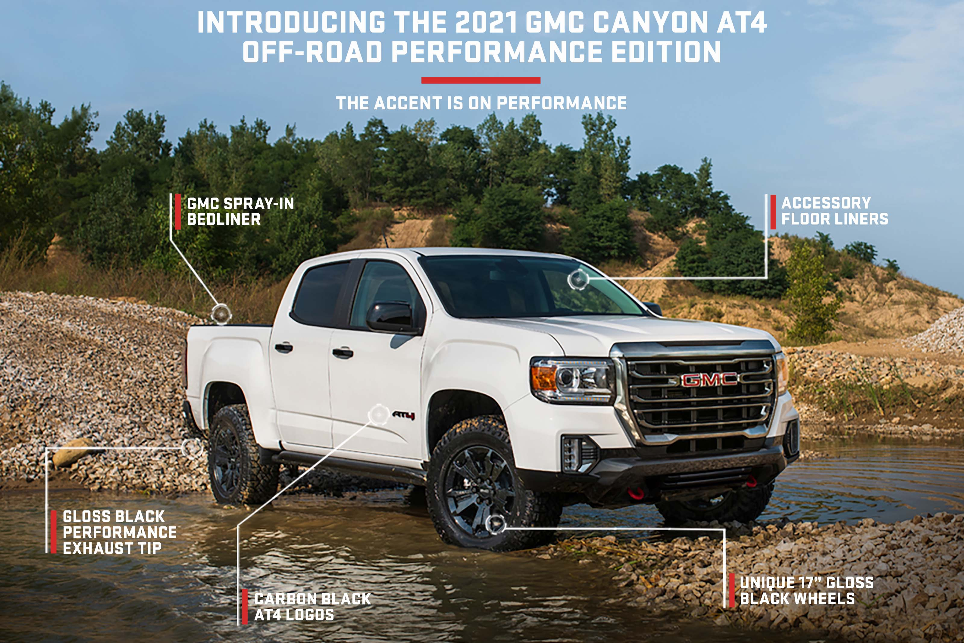 New 2021 Gmc Canyon At4 Off Road Performance Edition Package Announced