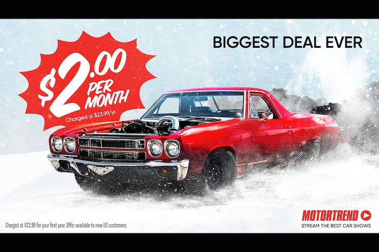Get MotorTrend's Biggest Deal of the Year!
