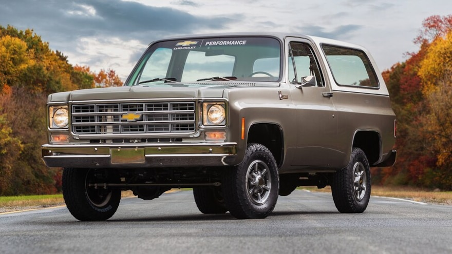 Chevy K5 Blazer-E Shows off Electric Crate Motor Swap for SEMA