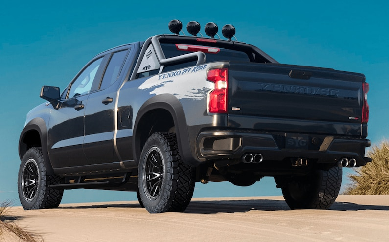 2021 800HP Supercharged Yenko Silverado Off Road 3