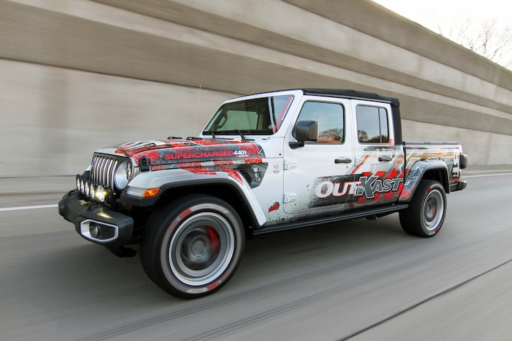 Custom 2020 Jeep Gladiator