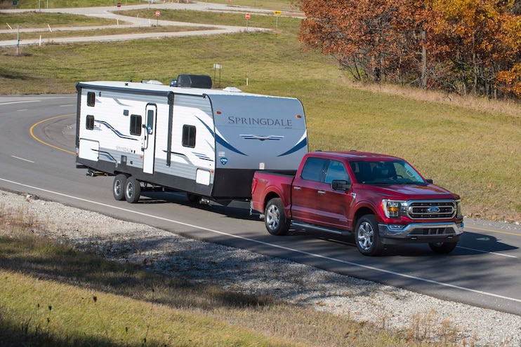 007 2021 Ford F150 Powerboost Hybrid Towing