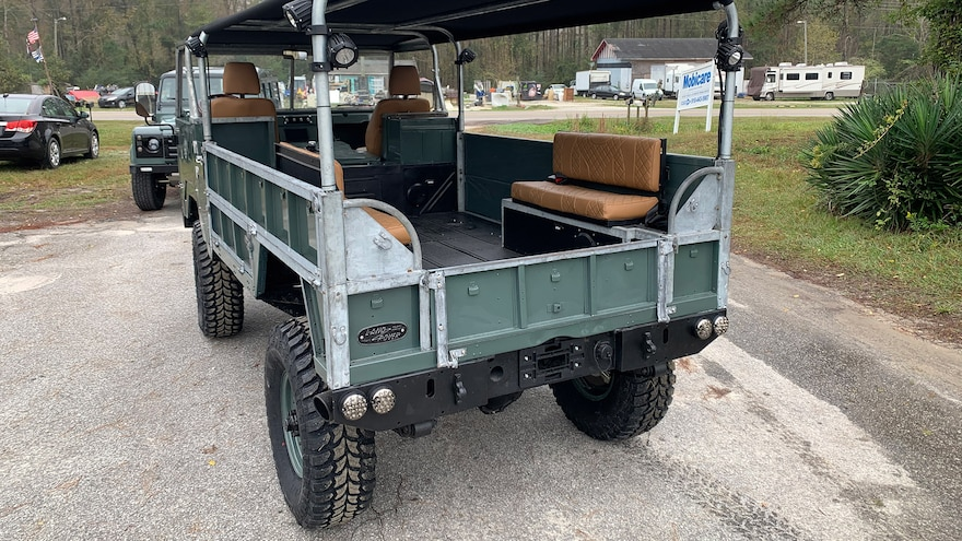 Osprey Custom 1975 Land Rover Forward Control 17