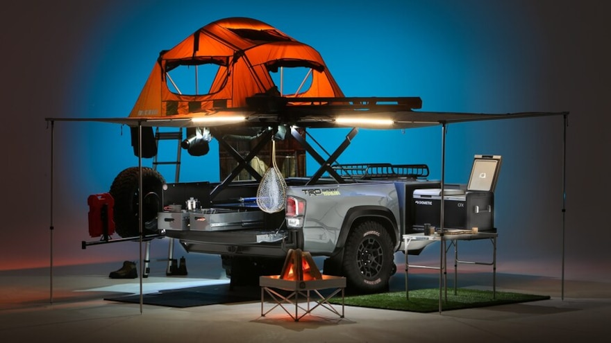 Taco Trailer: Toyota's Custom Camper Trailer Is More Than a Bed