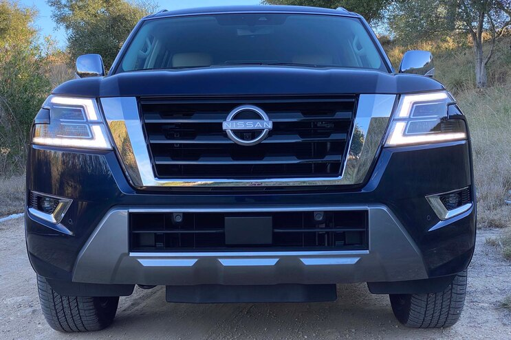 2021 Nissan Armada Platinum First Drive