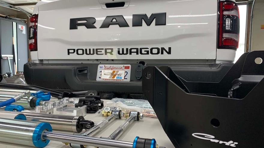 Can a Ram Power Wagon Suspension Beat a Ford Raptor?