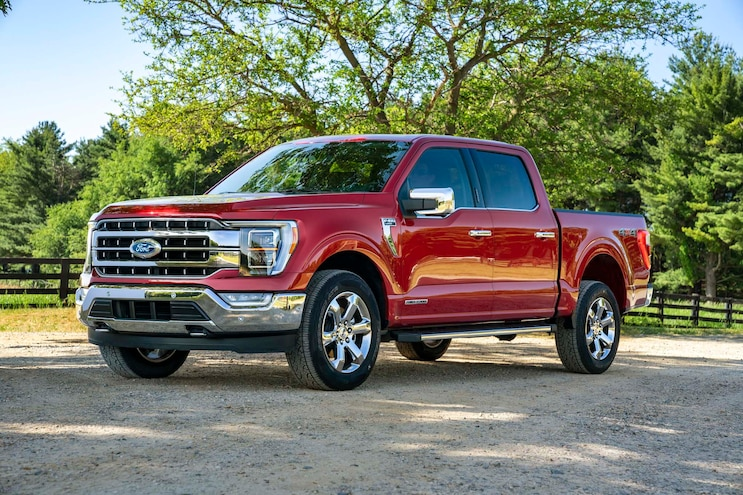 002 2021 Ford F150 Most Popular Truck In 2020