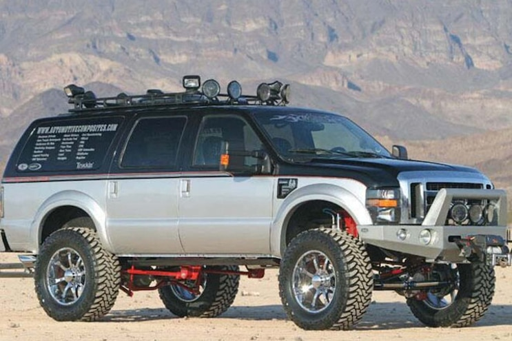 003 10 Ford Excursion Stories