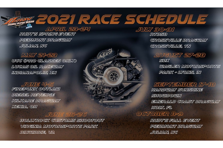 003 Diesel Drag Racing 2021