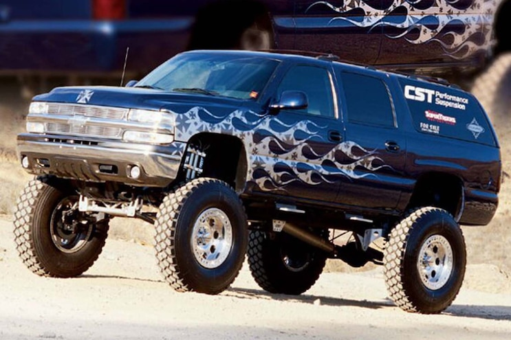 006 10 Custom Chevy Suburbans On Truck Trend