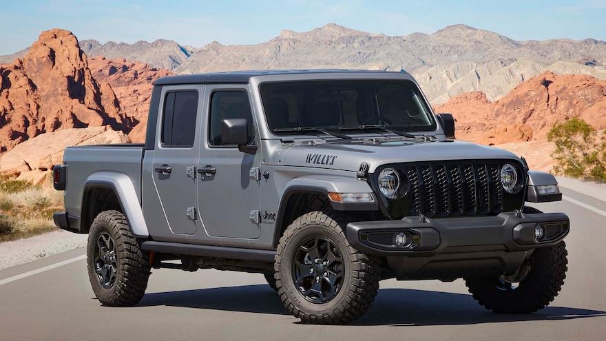 008 2021 Jeep Gladiator Willys