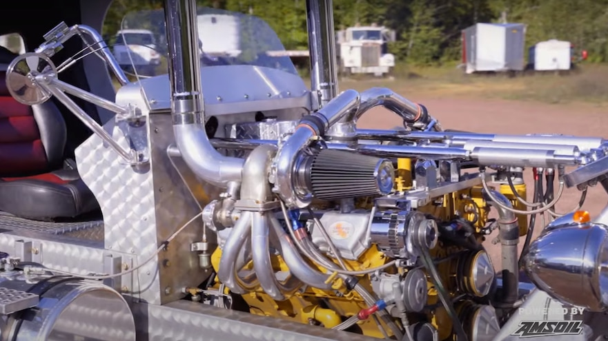 Walt Moss Custom Diesel Vehicles Amsoil 10