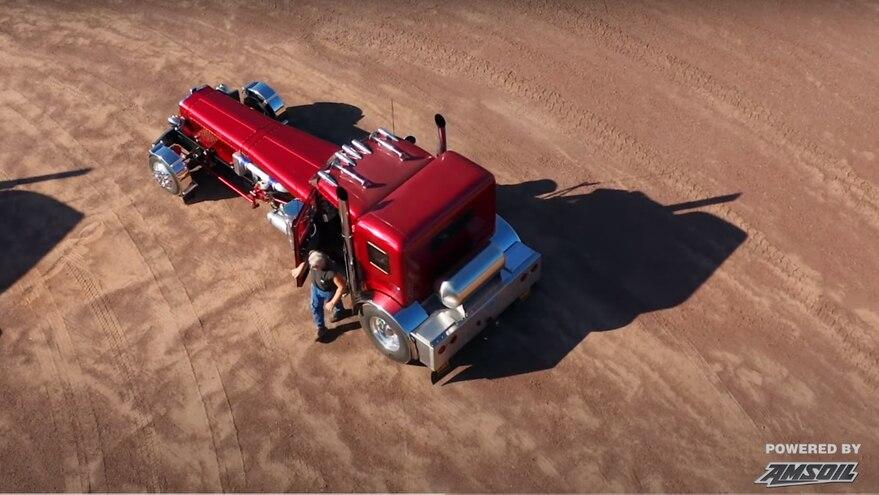 Walt Moss Custom Diesel Vehicles Amsoil 8