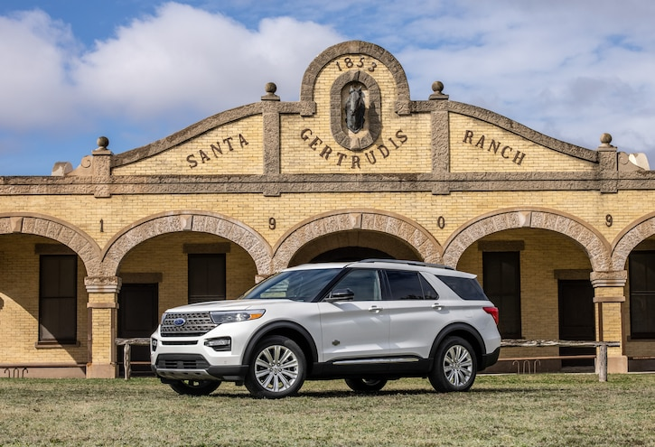 Ford Now Offers 2021 Explorer in King Ranch Trim