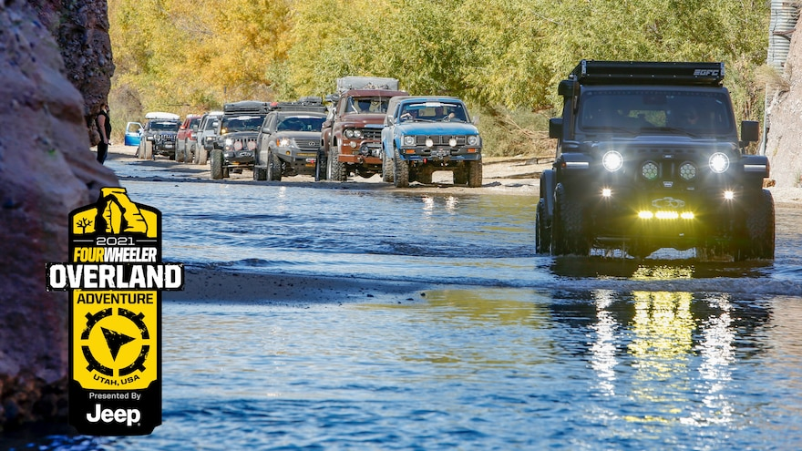 Apply Now for the 2021 Four Wheeler Overland Adventure in Utah, Presented by Jeep!