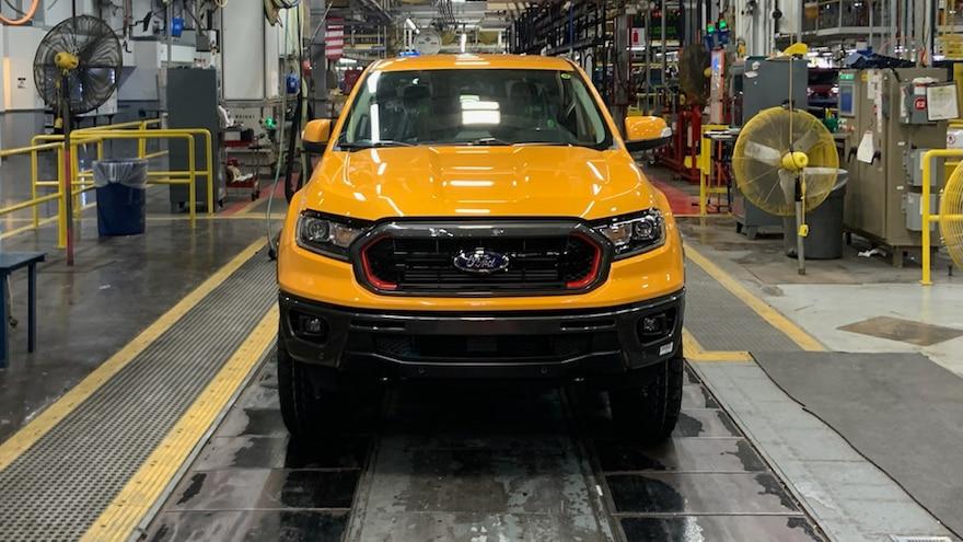 Ford Ranger Tremor Production 1