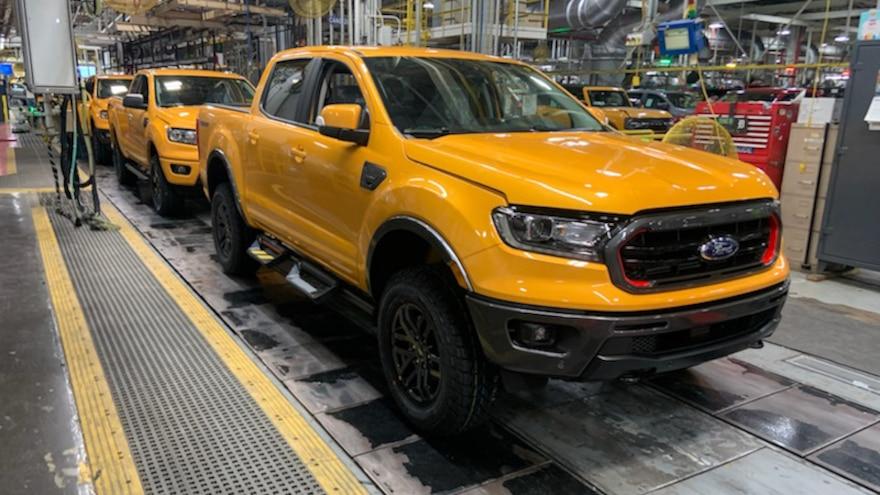 Ford Ranger Tremor Production 2