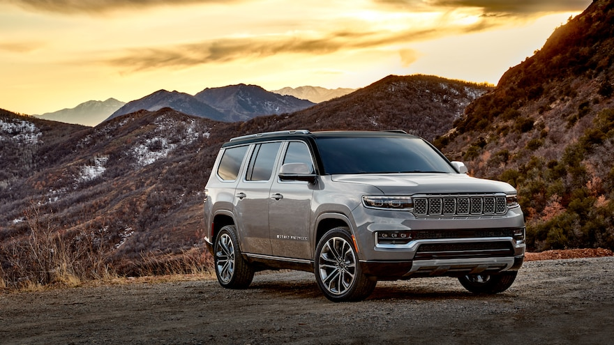 2022 Jeep Wagoneer and Grand Wagoneer Four-Wheel-Drive Systems Explained