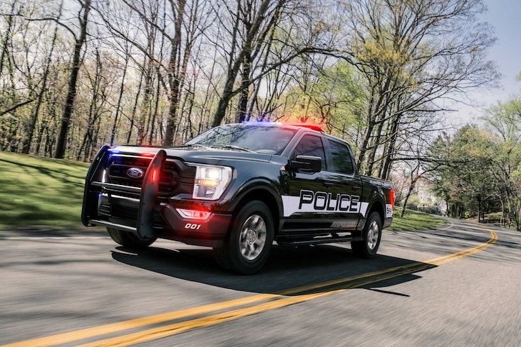 2021 Ford F-150 Police Responder First Look