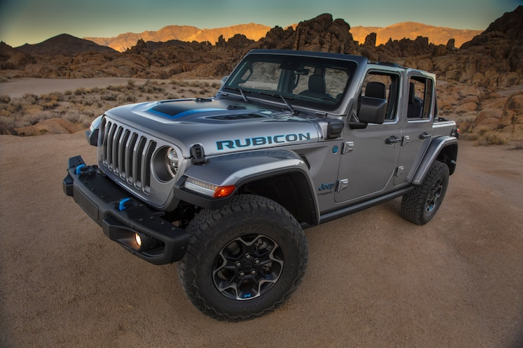 2021 Jeep Wrangler 4xe EPA-Rated Electric Range And Fuel Economy Revealed
