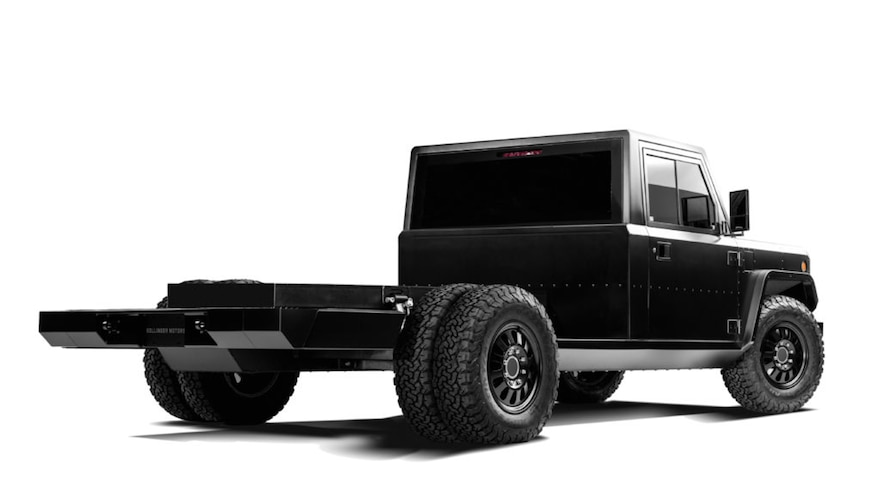 Bollinger Set to Build the First Electric Dually