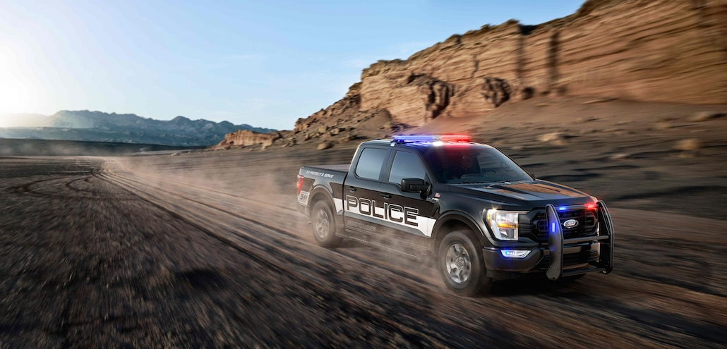 002 2021 Ford F150 Police Responder First Look